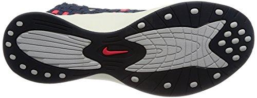 Nike Damen Wmns Air Woven Gymnastikschuhe Mehrfarbig (Thunder Blue/solar Red)