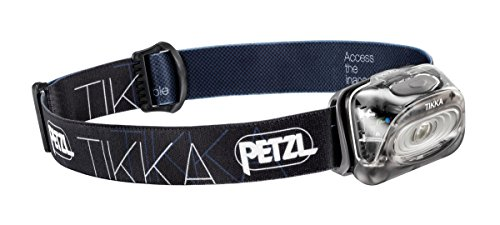 Petzl - TIKKA Headlamp 100 Lumens, Black