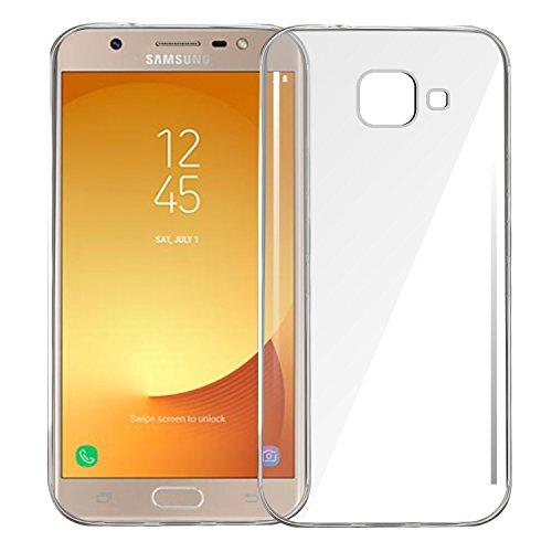 Samsung Galaxy J7 Max Transparent Back Cover