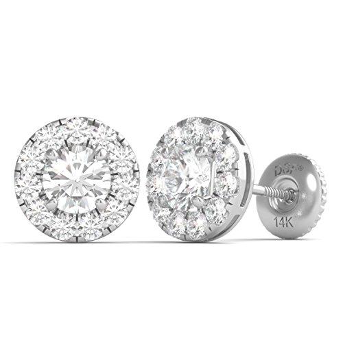 Diamond Studs Forever 14K Whit