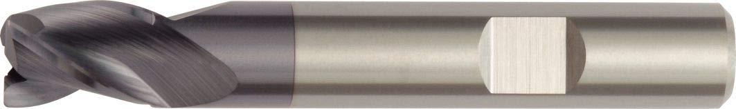Weldon Shank TiAlN Coating 3-Flute WIDIA Hanita DC0306002LW DC03 HP Finishing End Mill 6 mm Shank Diameter Right Hand Cut 6 mm Cutting Diameter Carbide