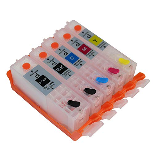 CEYE For CANON IX6820 MX722 MX922 Empty Refillable Ink Cartridge PGI-250 CLI-251 5pcs