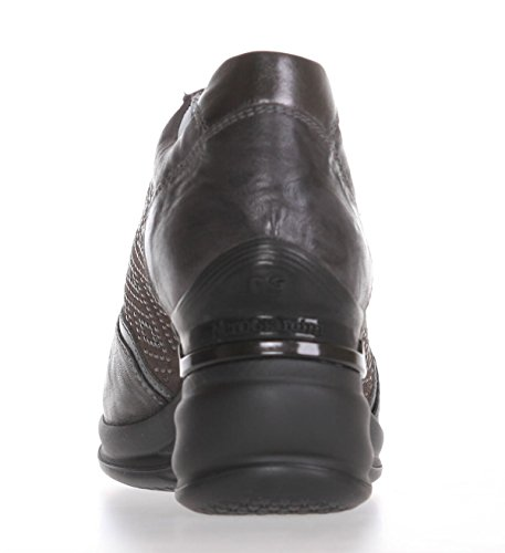 A513392d Piombo Con Color Sneaker Rodeo Mujer De Piel Nero Zeppa Marrón Giardini 109 6HqxAA