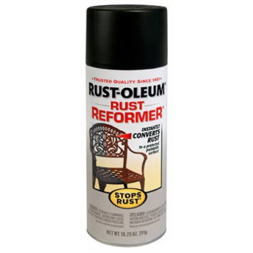 Rust-Oleum 215215 Stops Rust Rust Reformer Rust Reformer 10.25-Ounce Spray-Color Black (Paint Rust Converter)