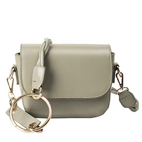Pengy Ladies Faux Leather Bag Briefcase Shoulder Laptop Messenger Bags Satchel Bag for Ladies ()