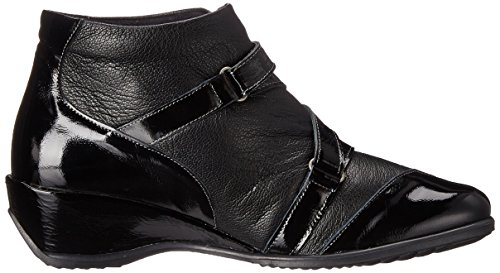 Spring Multi Allegra Black Ankle Step Bootie Women's wOqU4rw