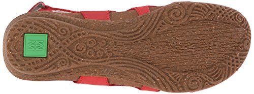 El Naturalista Wakatua N413 - Sandalias de otra piel Mujer rojo - Red (Grosella)