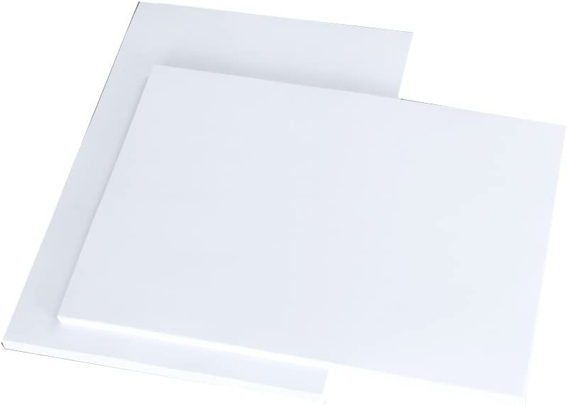 White Pack of 50 Sheets House of Card /& Paper A5 300 GSM Card