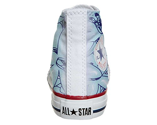 Converse All Star Customized - zapatos personalizados (Producto Artesano) Light Paisley