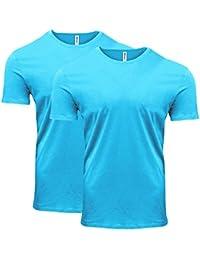 Men's Pigment-Dye Short-Sleeve T-Shirt (2 Pack)