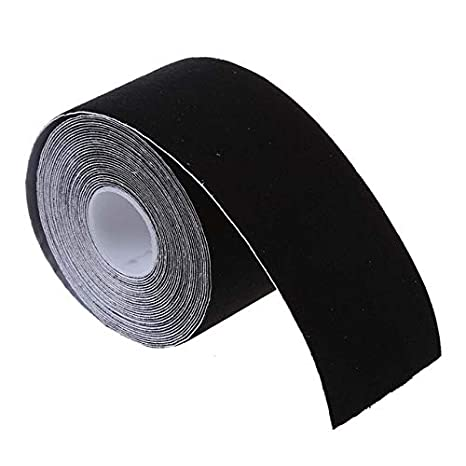 BeesClover 1 Roll Sports Muscles Care Fitness Athletic Health Tape 5M 5CM Black