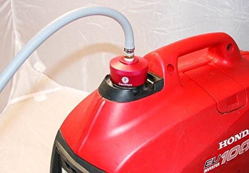 "Honda Generator Extended Run Gas Cap Adapter for EU1000i EU2000i EU3000i fits 1/4""NPT Line"