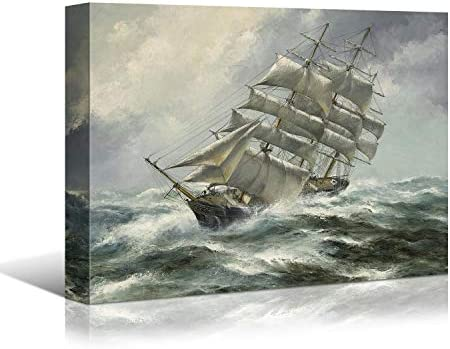 Looife Ocean Theme Canvas Wall Art