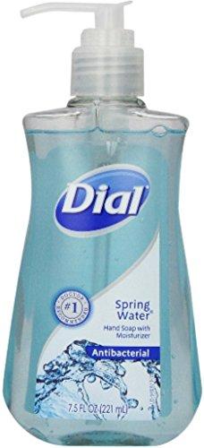 Dial Antibacterial Soap Spring Water 7.50 oz (Pack of 12)