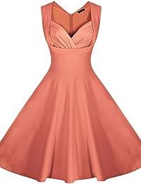 Amazon.com: Orange - Night Out &amp Cocktail / Dresses: Clothing ...