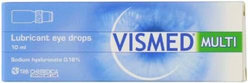Vismed Lubricant Eye Drops Multi Dose Bottle 10ml by Vismed