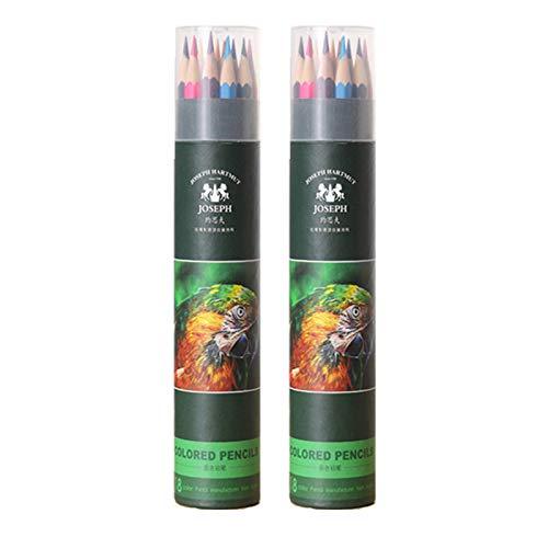 WMC Set de lápices de Colores 18/24/36, lápiz de Color ...