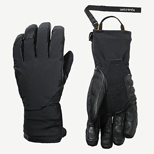 Kjus Formula DLX Gloves - Medium/Black