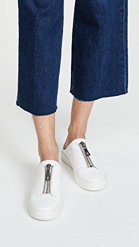 Mule Lena White Zip FRYE Sneaker Women's q1nTU5wtx