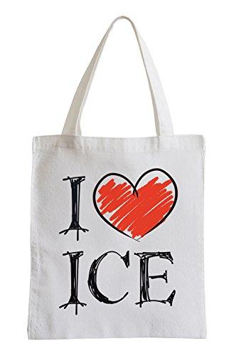 Amo Ice Fun sacchetto di iuta