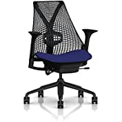 Herman Miller Sayl Task Chair: Tilt Limiter - Adj Lumbar Support - Stationary Seat Depth - Height Adj Arms - Standard...