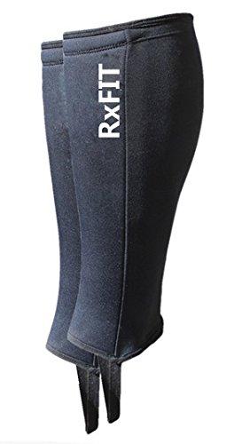 RxFIT 5mm Neoprene Crossfit Shin Skin Weightlifting Shin Protector (Pair - S/M)