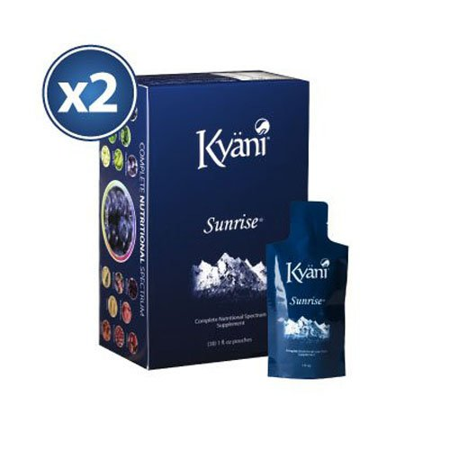 2x Kyäni Sunrise (30 Pouches) Bundle by Kyani