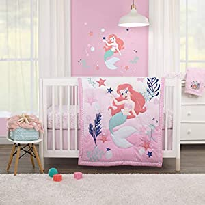 41uGSQTL-IL._SS300_ Mermaid Crib Bedding and Mermaid Nursery Bedding Sets