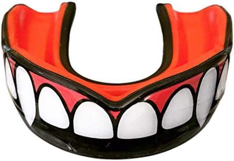 Oral Mart Vampiro colmillo Protector bucal con Estuche ventilado para Karate, Boxeo, Combate, Taekwondo: Amazon.es: Deportes y aire libre