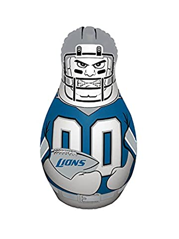 NFL Detroit Lions Unisex NFL Mini Tackle Buddynfl Mini Tackle Buddy, Team Logo/Colors, 12