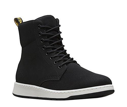 Sneaker Boot (Dr. Martens Men's Rigal MH Boot, Black, 9 UK/10 M US)