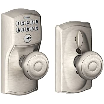 Schlage Fe595 Cam 609 Geo Camelot Keypad Entry With Flex