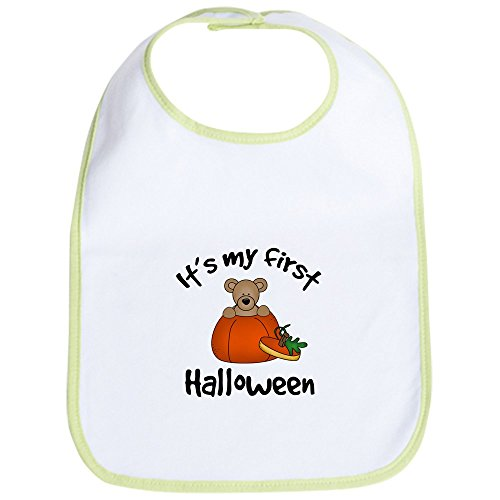 Cute Halloween Quotes Baby (CafePress Baby's 1st Halloween Bib Cute Cloth Baby Bib, Toddler)