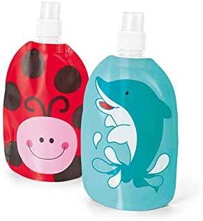 Botella Infantil Animales con Mochila Plegable a Juego.Lote ...