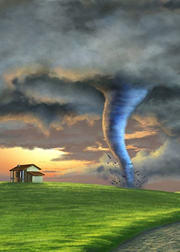FUERMOR Photo Background 5×7 ft Fairy Tale Tornado Photography Backdrop Studio Props for Newborn Children Video Shooting A183