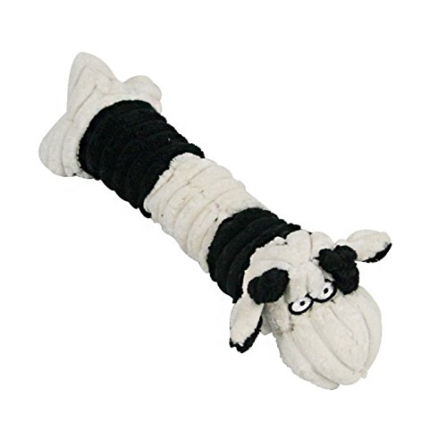 Stock Show 1Pc Pet Squeak Toy Corduroy Plush Rod-like Teeth