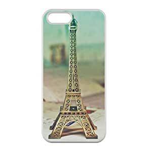 Welcome!Iphone 5/5S Cases-Brand New Design Eiffel Tower Printed High Quality TPU For Iphone 5/5S 4 Inch -01 WANGJING JINDA