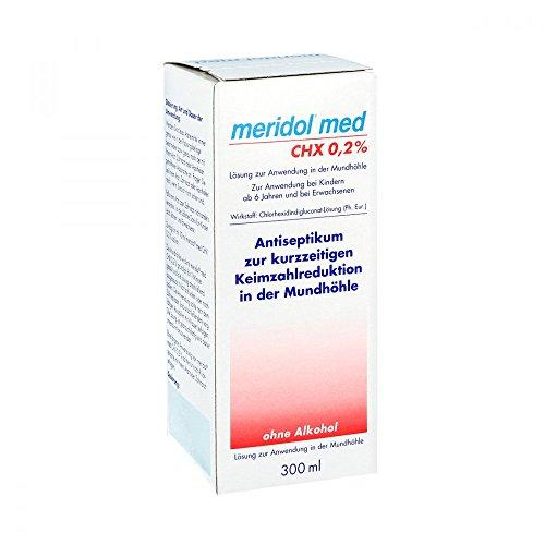 MERIDOL med CHX 0,2% Spülung 300 ml Lösung