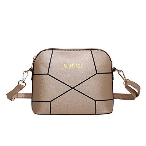 Messenger Crossbody Casual Women Leather Small Yuan Handbag Bag Packet Shoulder Ladies Gold Mini vtSTvanxW