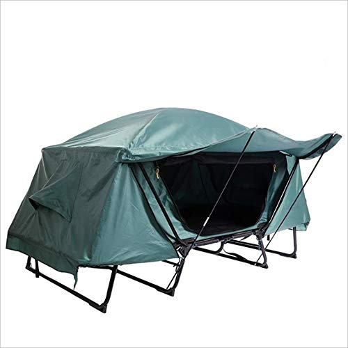 Yzibei Haltbar Multifunktionales einzelnes Zelt-Bett-Wasserdichte kalte Freizeit-faltendes Fischen-Auto-Spitzenboden-Zelt im Freien