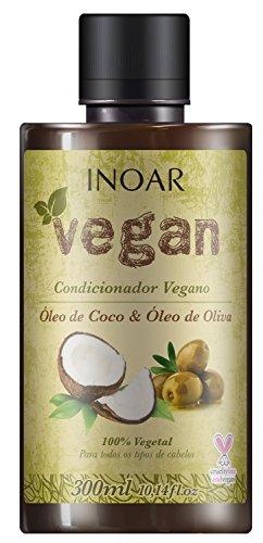 Condicionador Vegan com Óleo de Coco e Oliva 300 ml, Inoar