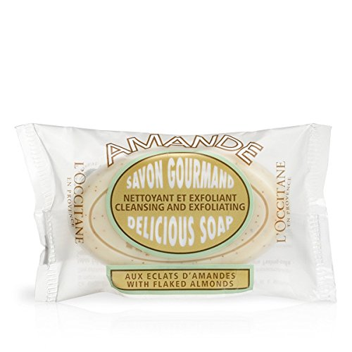 L'Occitane Exfoliating Almond Delicious Soap With Ground Almond Shells and Sweet Almond Oil, 1.7 ()