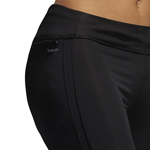 adidas Women's Response Tights, Black/Black, X-Small by adidas (Image #7)
