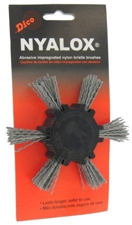 Dico 7200039 4 Fine Nyalox Flap Wire Brush