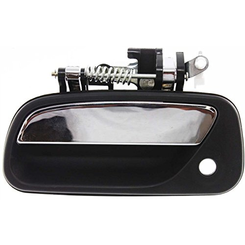 For Toyota T100 93-98 Textured Black Front Outer Door Handle With Keyhole Left