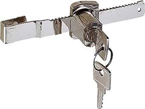 Chrisligne 10725.32-009 - Cerradura para puerta corredera de cristal, con llave, con ojo