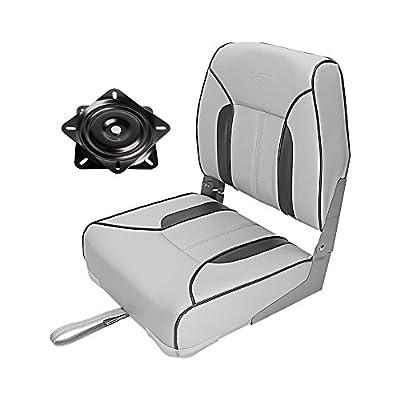 MSC Folding Boat Seat with Seat swivel 360 degree rotation