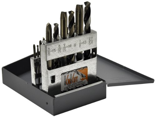 KnKut Performance KK18TDNC National Course Tap and Drill Bit Set by KnKut