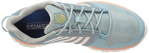 K-SWISS Women's X Lite Camo Blue/Bright White/Papaya Punch for sale cheap authentic wholesale price cheap online cheap exclusive under $60 online LUS3B
