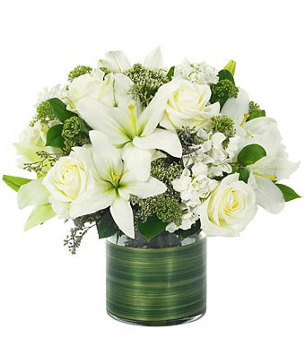 Divine Light - Same Day Sympathy Flowers Delivery - Condolence Flowers - Funeral Flower Arrangements - Sympathy Plants